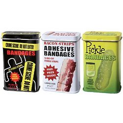 Pickles, Bacon and Crime Scene Bandages