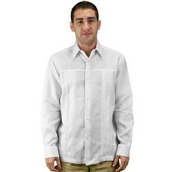 Men's Linen Wedding Shirt