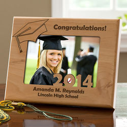 Personalized Graduation Day Picture Frame