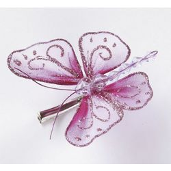 Clip On Decorative Butterflies