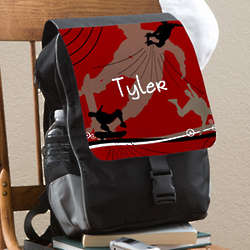 Personalized Kid's Skater Backpack