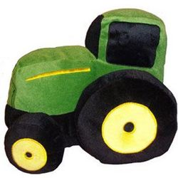 John Deere Plush Pillow Toy with Sound