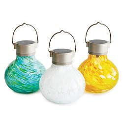 Solar Powered Tealight Lantern