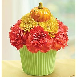 Fall Cupcake in Bloom