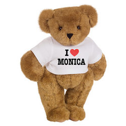 I Heart You Personalized T-Shirt Teddy Bear
