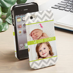 Picture Perfect Chevron iPhone Hardcover Cell Phone Case