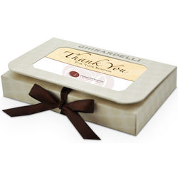 Business Card Chocolate Gift Box with Bow