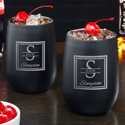 2 Oakhill Personalized Stainless Steel Tumblers