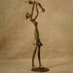 Loving Mother Bronze Sculpture