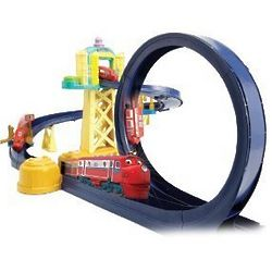 Chuggington Training Yard Playset with Motorized Loop