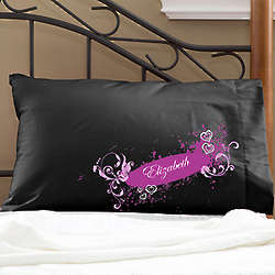 Personalized Teen Dream Girl's Pillowcases