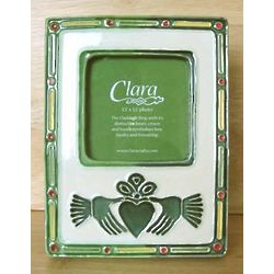 Claddagh Ceramic Photo Frame