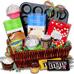 Cupcake Smorgasbord Basket