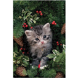 Kitten Holiday Jigsaw Puzzle