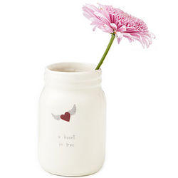 A Heart in Love Vase