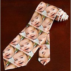 Personalized Photo Tie with Color Images