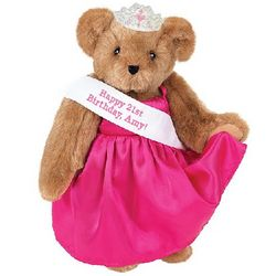 "15"" Birthday Girl Teddy Bear with Sash"
