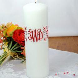 Monogram Elite Unity Candle