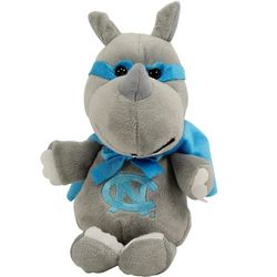 North Carolina Tar Heels Superhero Plush Rhino