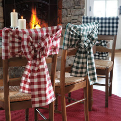 Classic Check Chair Bow