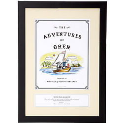 Personalized Storybook Adventure Framed Art Print