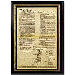 The U.S. Constitution Framed Reproduction
