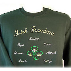 Personalized Irish Tri-Claddagh Sweatshirt