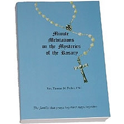 Minute Meditations of the Mysteries of the Rosary Book