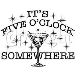 5 O'Clock Somewhere T-Shirt