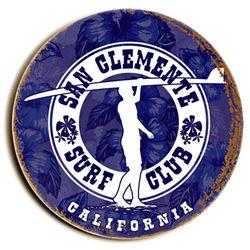 Surf Club Custom Sign