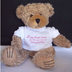 Breast Cancer Messed with The Wrong B@#ch! Teddy Bear