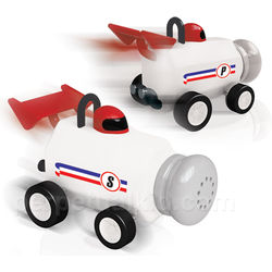 Formula Fun Salt & Pepper Shakers