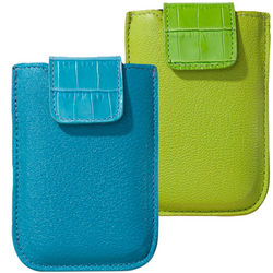 Bright Leather Universal Phone Case