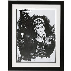 Al Pacino as Scarface Framed Art Print