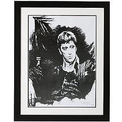 Al Pacino as Scarface Framed Art Print