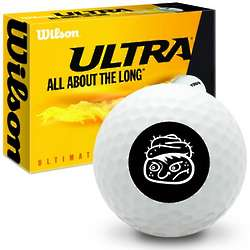 Grumpy Face Ultra Ultimate Distance Golf Balls