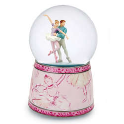 Musical Ballet Couple Snow Globe