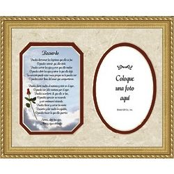 Her Remembrance Spanish Framed Print and Picture Frame