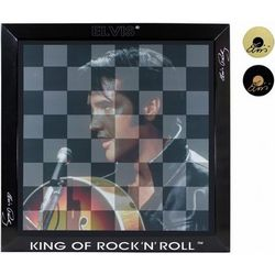 Elvis Presley Checkerboard