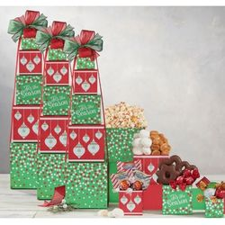 Golden Sweets Gift Tower