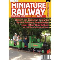 Miniature Railway Magazine 3-Issue Subscription