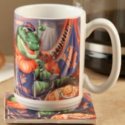 Florida Gators Tailgate Mug and Coaster Set