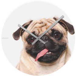 Contemporary Art Pug Clock