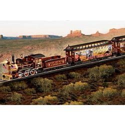 Illuminated John Wayne Train Set with Free HO Gauge Track Set