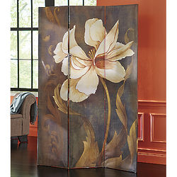 Floral Canvas Art Screen Decoration