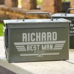 Maverick Personalized Ammo Box