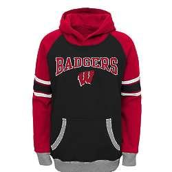 Preschool Boy's Badgers Hooded Sweatshirt
