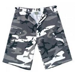 City Camo Extra Long BDU Shorts