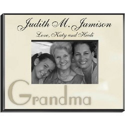 Personalized Special People Parchment Picture Frame