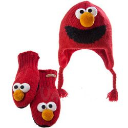 Sesame Street Knit Wits Hat or Mittens for Kids
